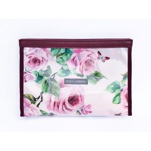 Dolce & Gabbana Floral Wash Bag / Cosmetic Bag